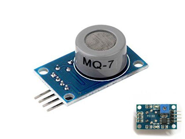 MQ-2 MQ-3 MQ-7 Sensor Arduino Module Raspberry Project DiY
