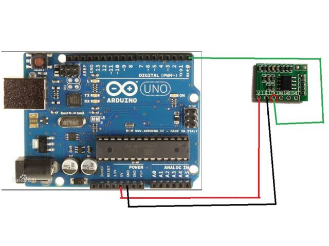 RFID 125K Card Reader UART Serial Output - RAM Electronics