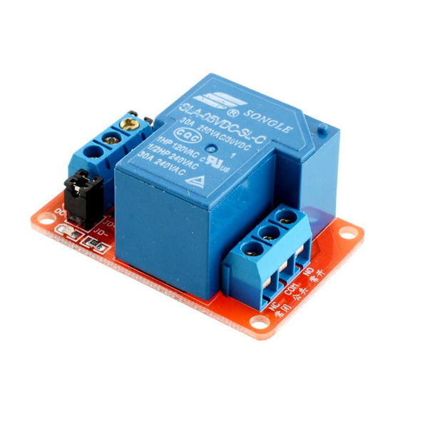 Relay Module 5Vdc - 30Amper - 1 Relay For Arduino & Microcontrollers