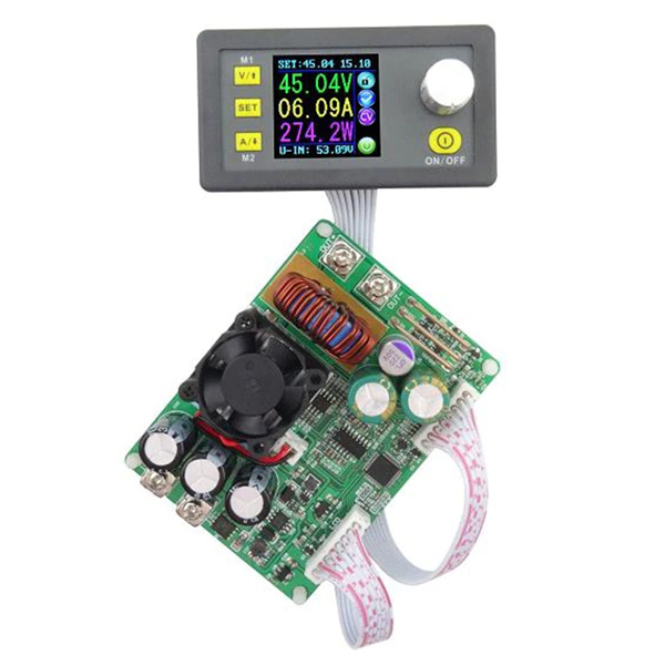 DC-DC Step Down Converter - DPS5015 Programmable Power Supply Buck Voltage  Converter With Color LCD Voltmeter