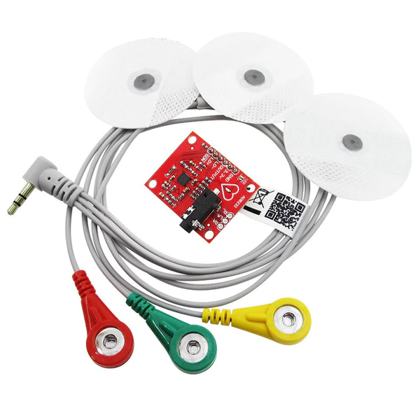ECG Module AD8232 - Heart Rate (Pulse Rate) Sensor
