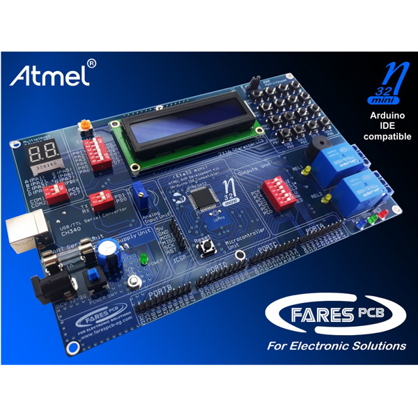 Atmel AVR USB Development System Eta32mini