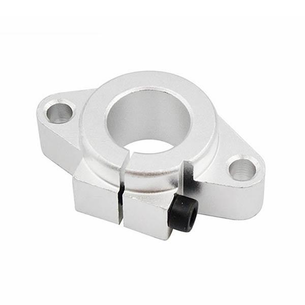 SHF10 4PCS SHF10 SHF12 SHF16 SHF20 Aluminum Linear Motion Rail Clamping Rod Rail Guide Support for 10mm Diameter Shaft